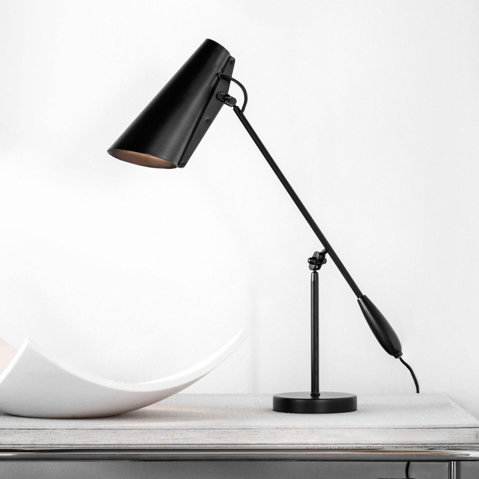 Northern Birdy - tafellamp in zwart