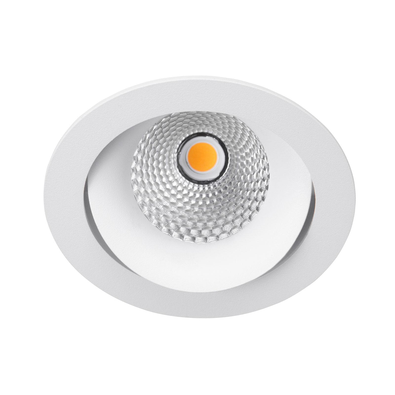 LED-Einbaustrahler Carda Piccolo, weiß, 18 Grad