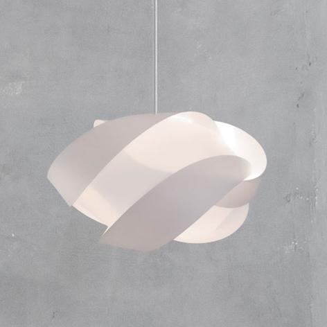 UMAGE Ribbon mini lampada a sospensione bianca