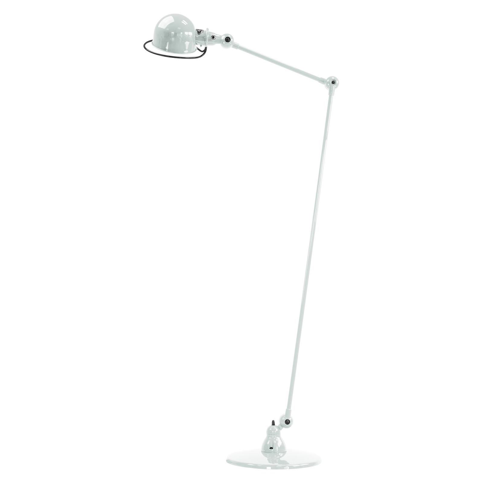 Jieldé Loft D1240 vloerlamp scharnierarm, wit