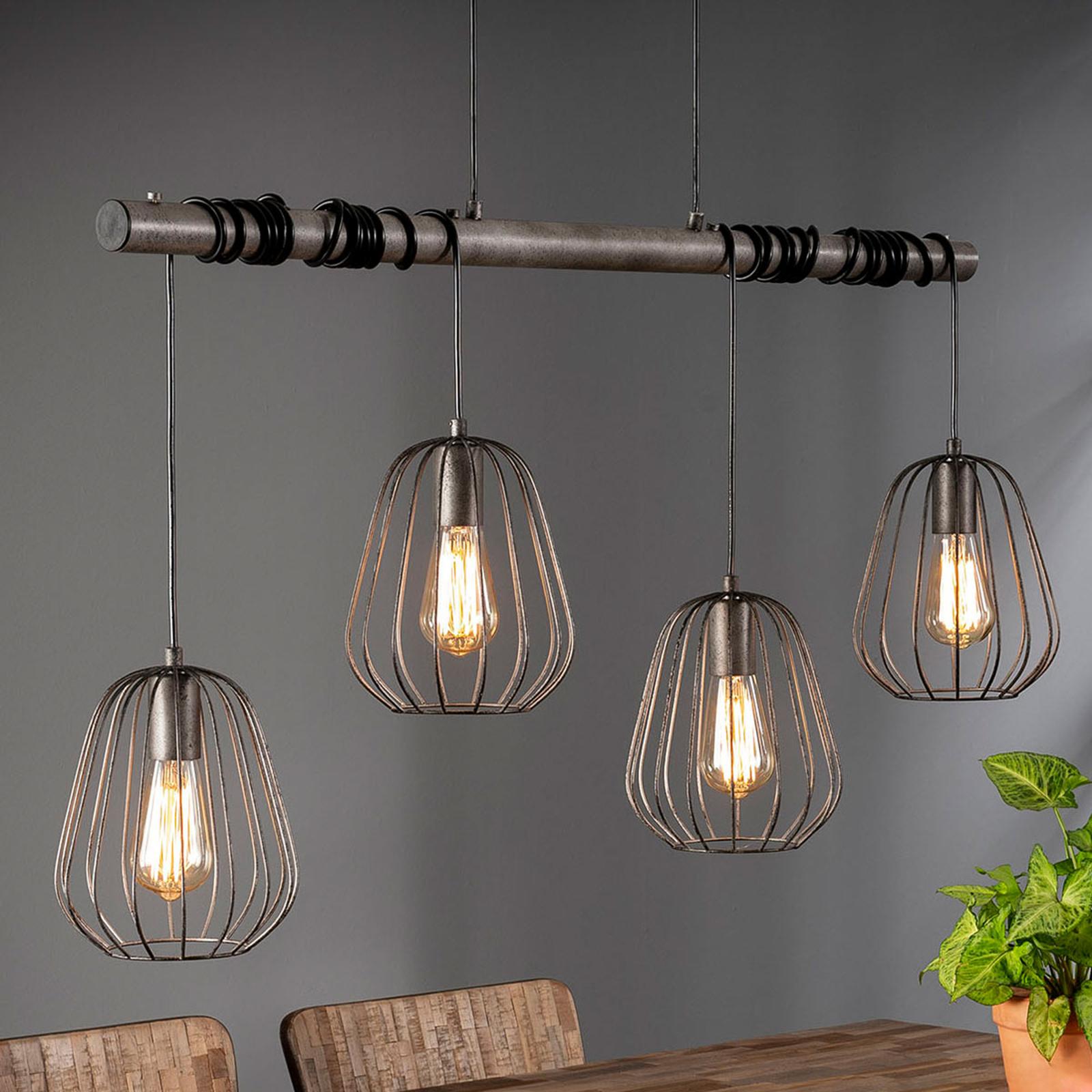 Hanglamp Kooitje, 4-lamps