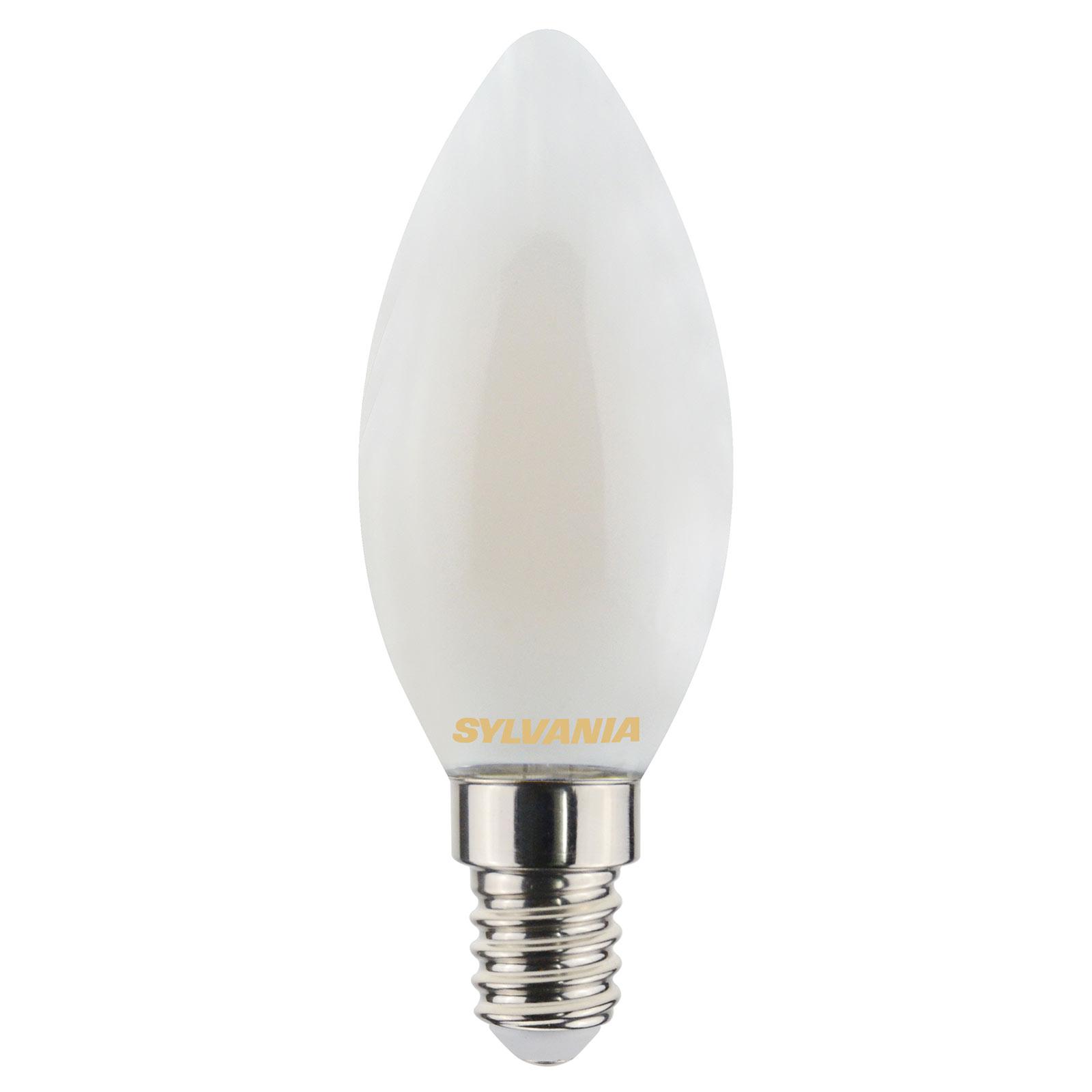 ToLEDo LED-kertepære E14 4,5W 827 satin