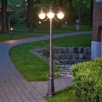 Třízdrojová pouliční svítilna Eddie, IP44