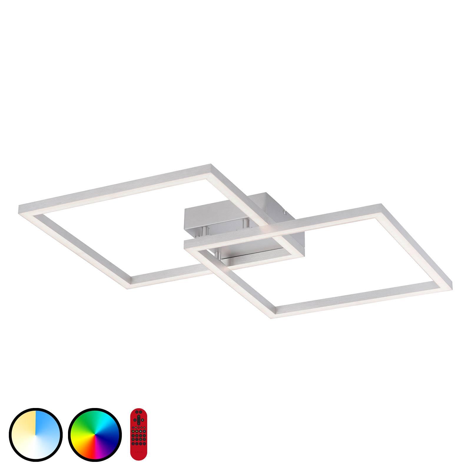 Lampa sufitowa LED LOLAsmart Maxi, 63 x 63 cm