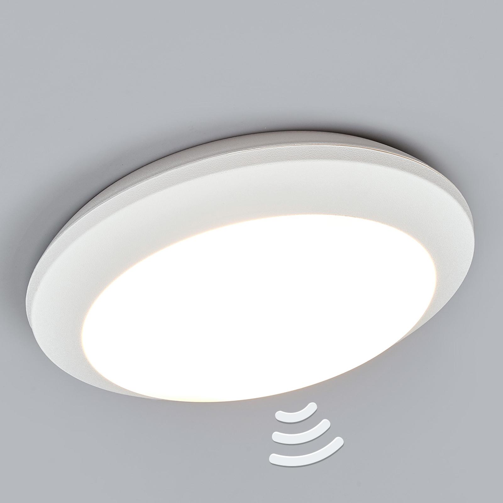 Biele senzorové svietidlo Umberta 11W 3000K
