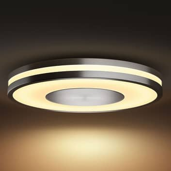 Philips Hue White Ambiance Being plafonnier alu