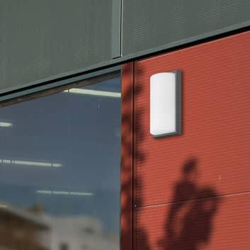 Aplique exterior 039, detector movimiento, grafito