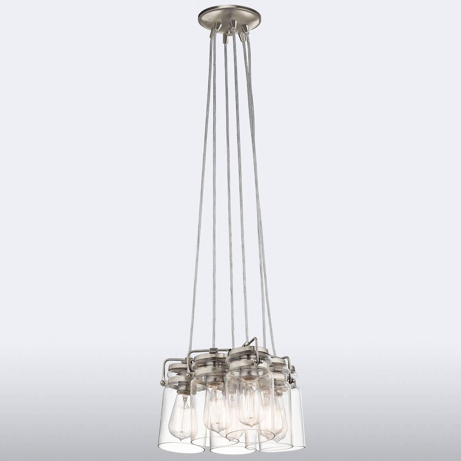 Gebundelde hanglamp Brinley 6-lamps