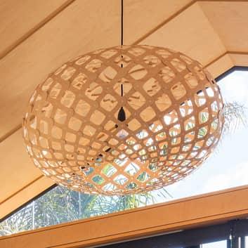 david trubridge Kina lampa wisząca z bambusa