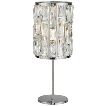 Lampa stołowa Bijou z kryształkami