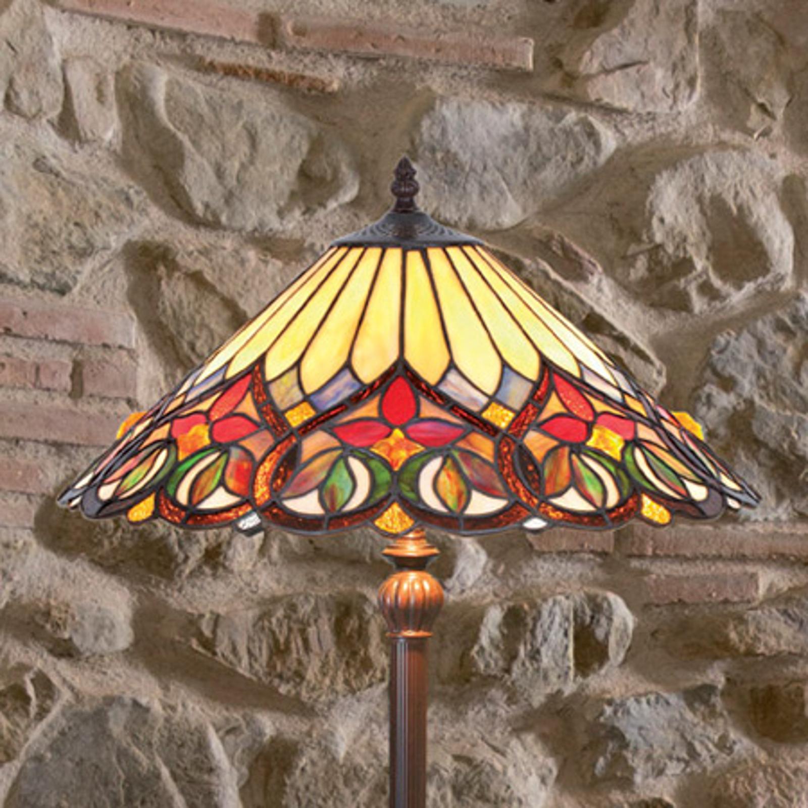 Tiltalende utfformet stålampe Anni