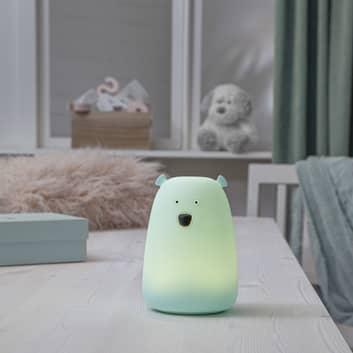 Big Bear LED-bordlampe, natlampe, farveskift
