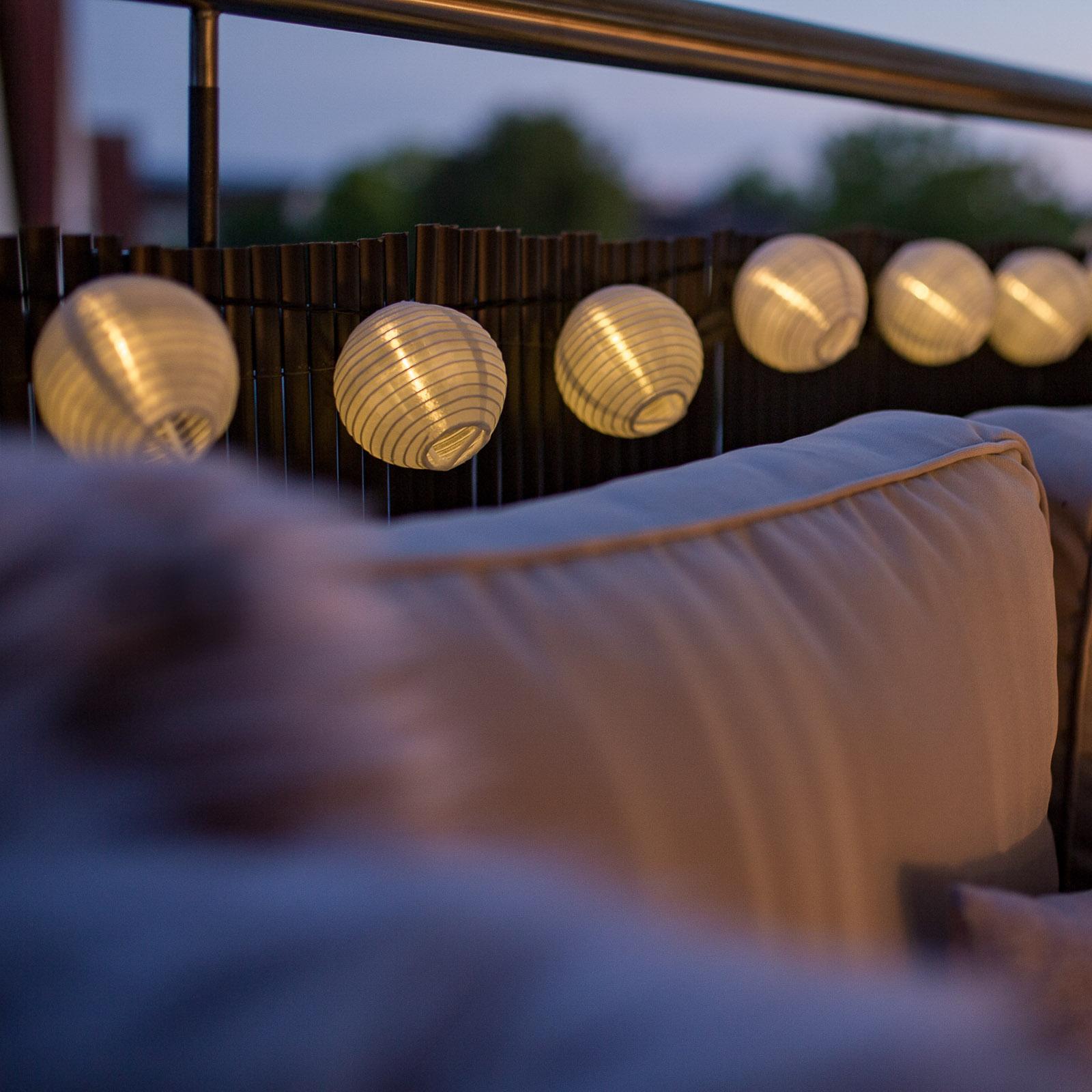 Paulmann Mobile Lampion lyslenke 7 lys, hvit