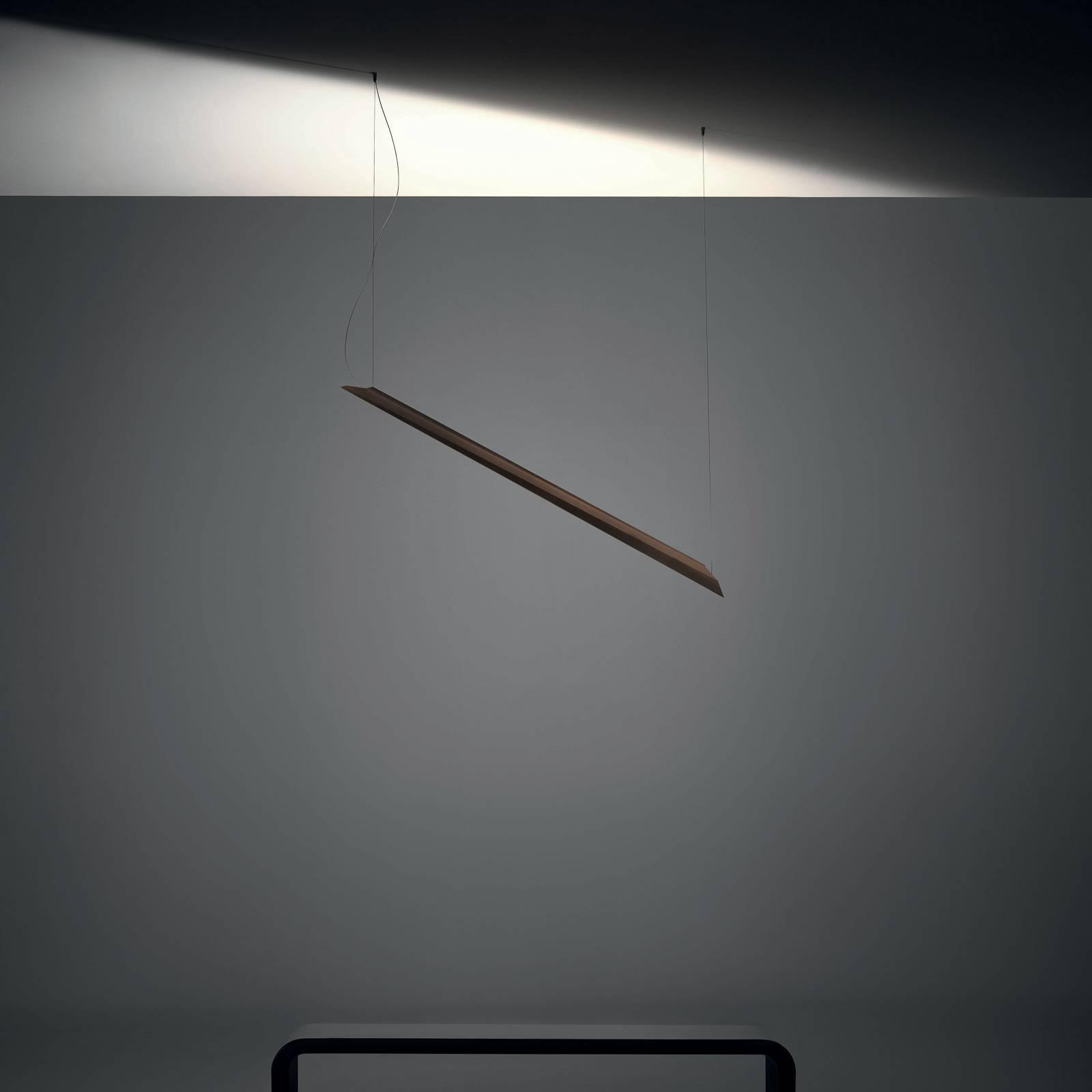 Knikerboker Schegge LED hanglamp 1-lamp coffee