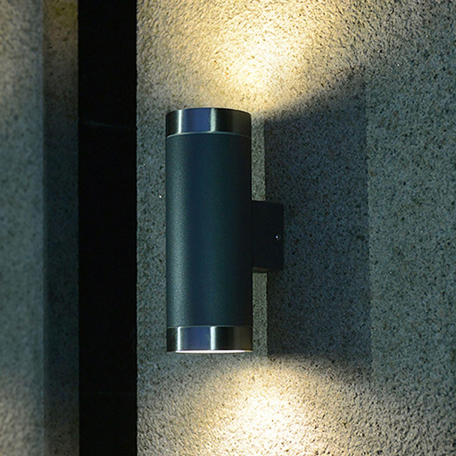 Buitenwandlamp 400157 Up/Down van roestvrijstaal