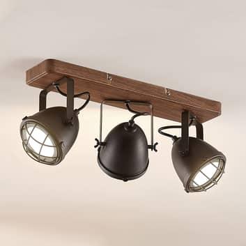 Lindby Adeon LED-Deckenleuchte, dreiflammig