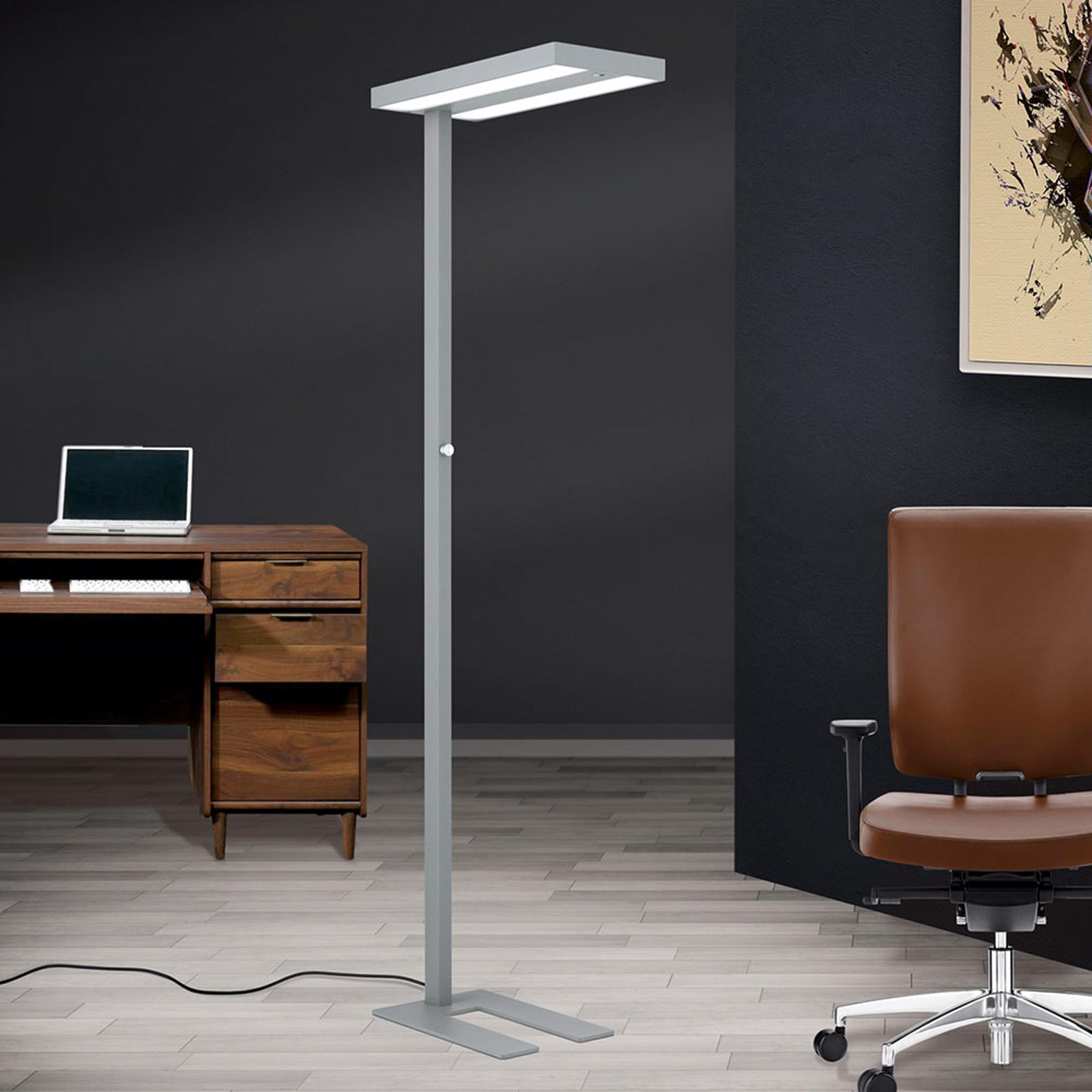 Lampa stojąca biurowa LED 12-1183, czujnik światła