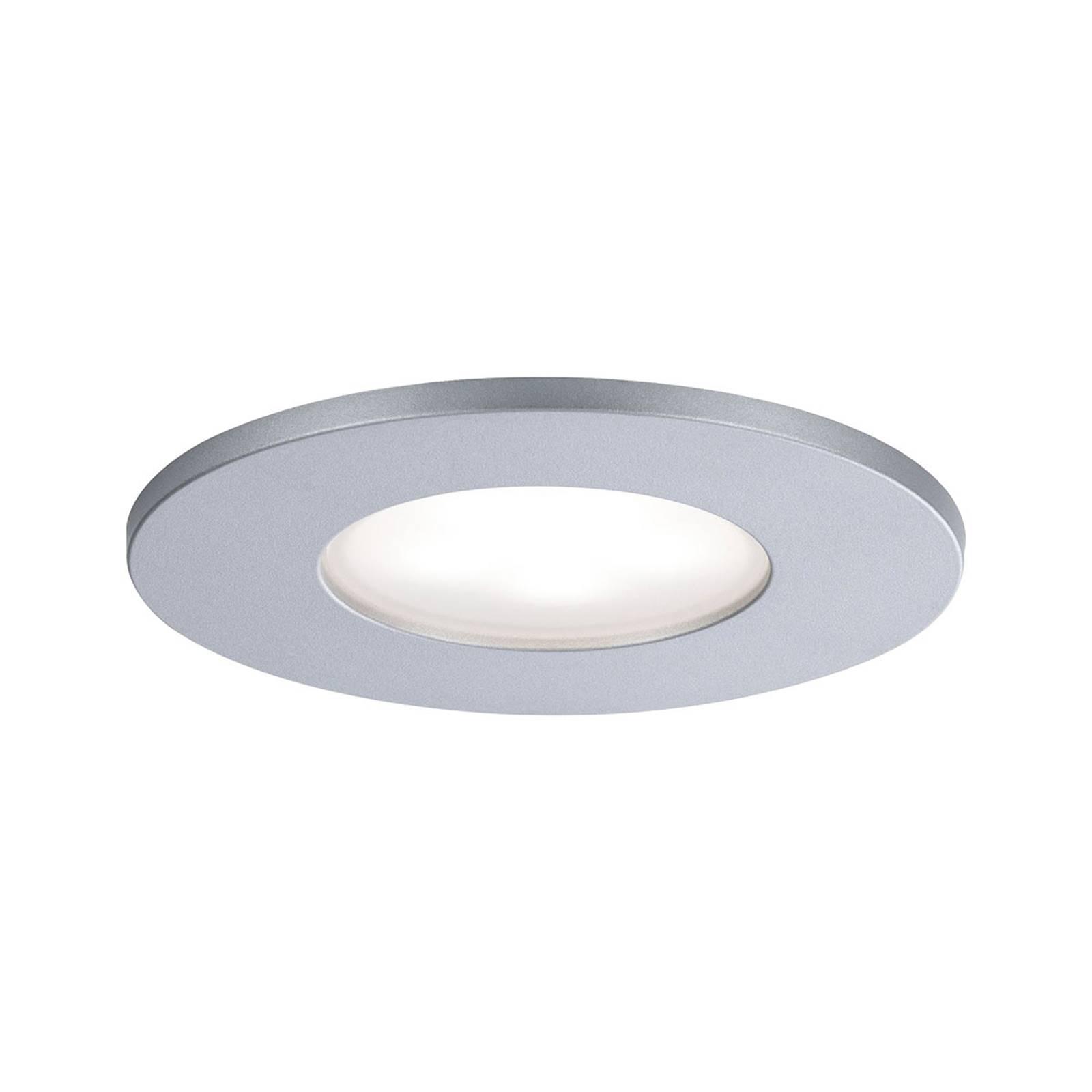 Paulmann LED buiten-inbouwspot Calla star chroom