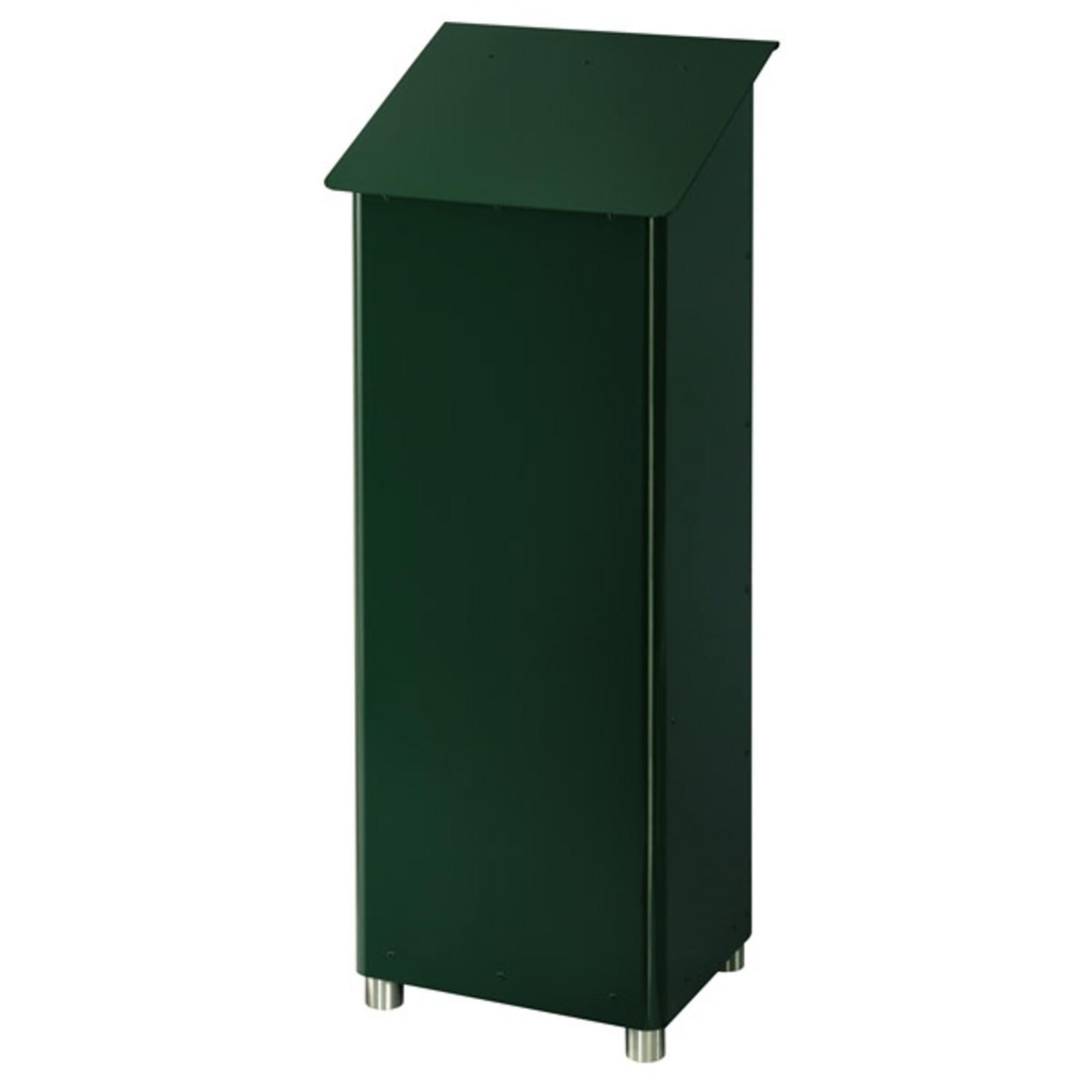 Produktové foto Heibi Poštovní schránka GRANDE SECURI 1 tmavě zelená