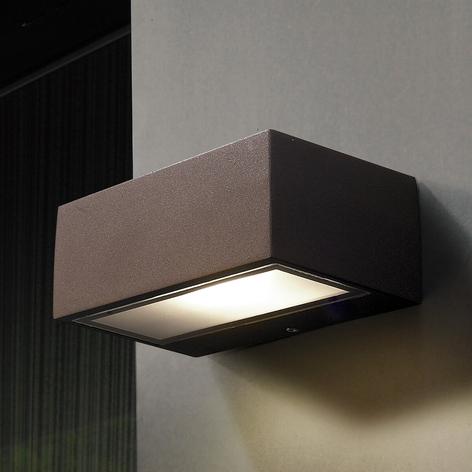 Applique d'extérieur LED Némésis, brun