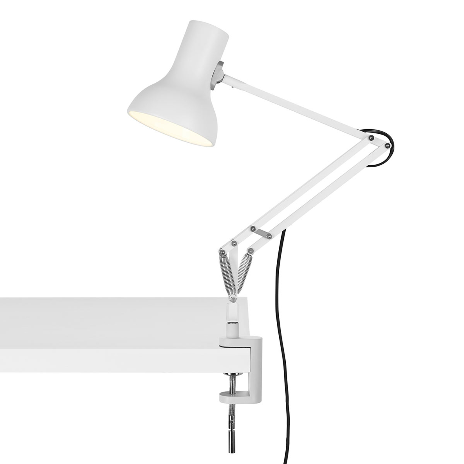 Anglepoise Type 75 Mini klemlamp alpinewit