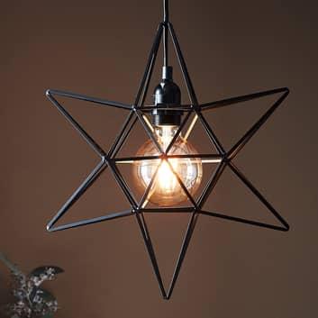 Decoratie ster Contour als hanglamp
