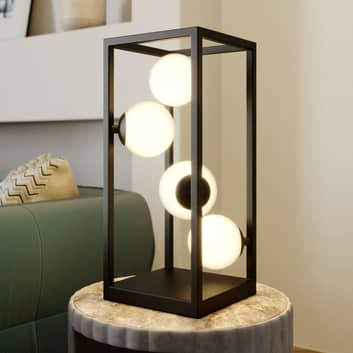 Lindby Utopia LED tafellamp met ballen van glas