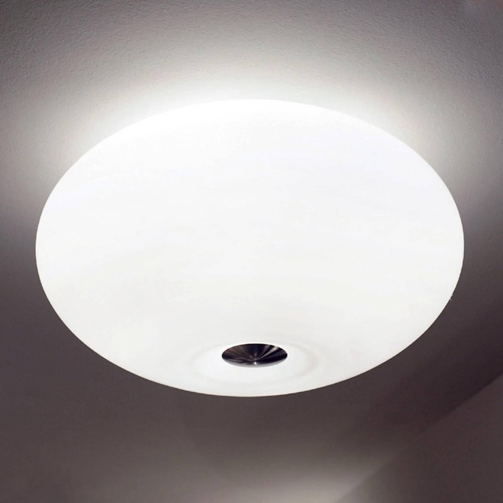 Fraaie plafondlamp AIH, 38 cm, wit mat