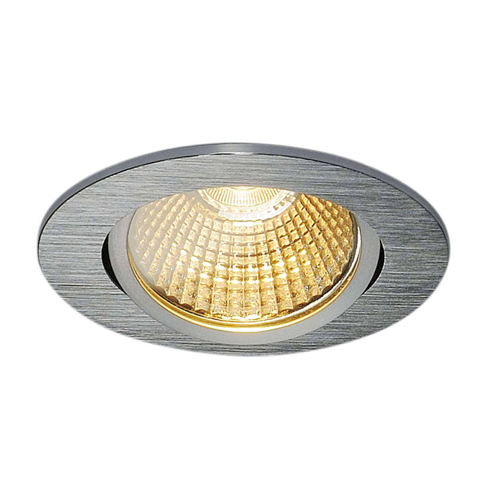 SLV New Tria 68 reflektor wpuszczany okrągły alu