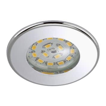 Eficiente foco empotrado LED Nikas IP44