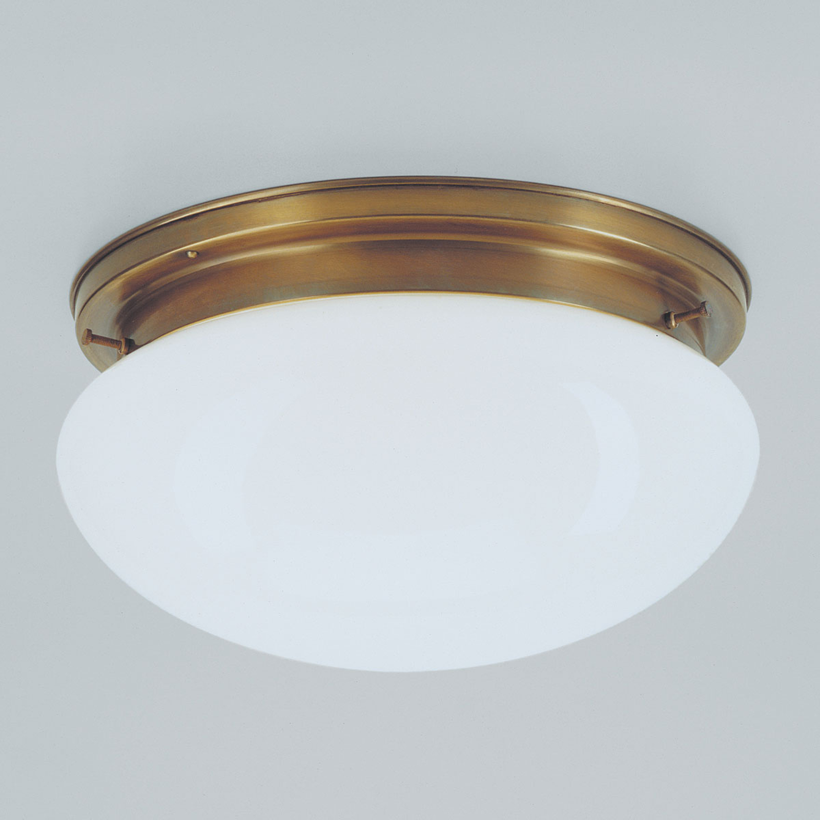 30 cm stor mässingplafondlampa Arian