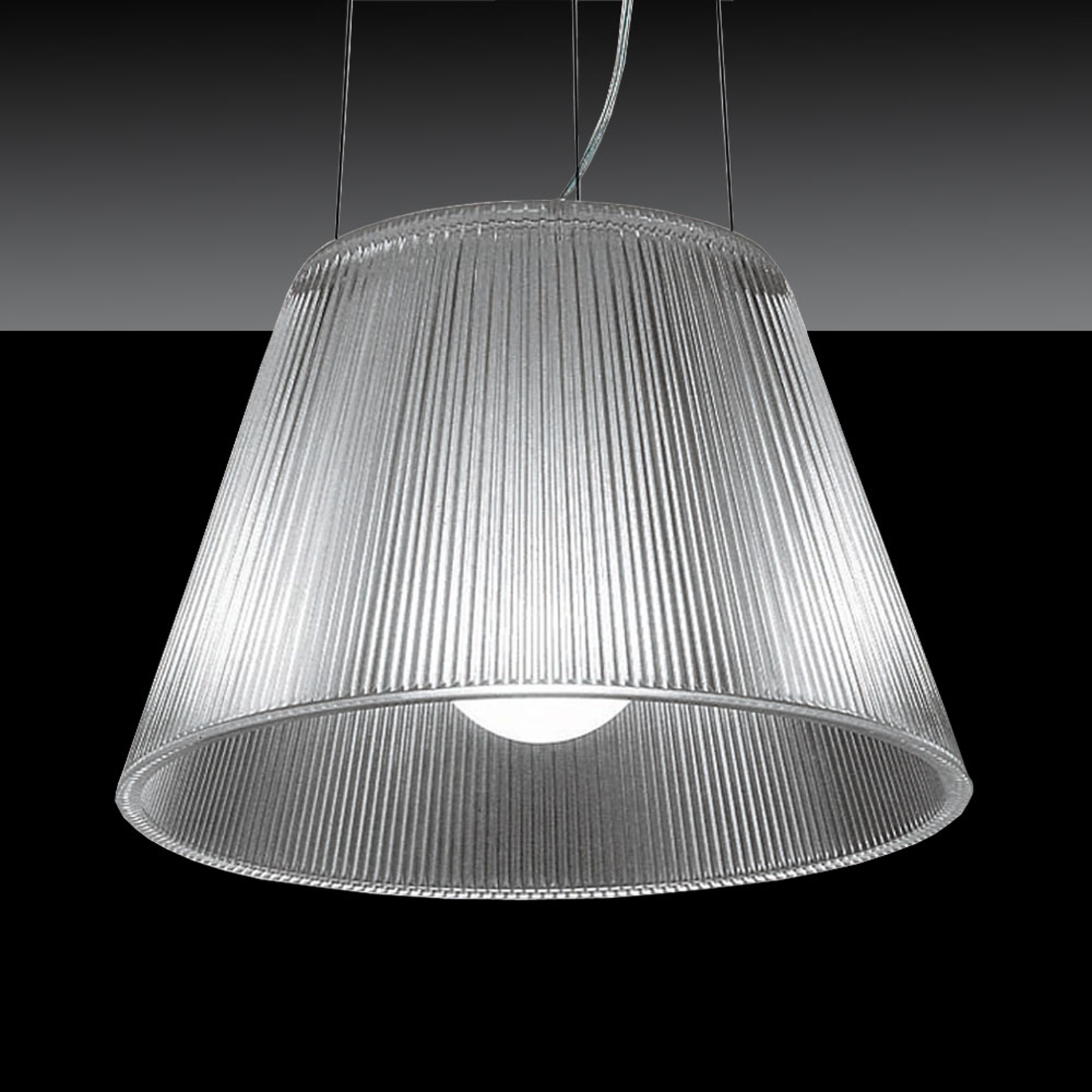 FLOS Romeo Moon S1 - průhledná závěsná lampa