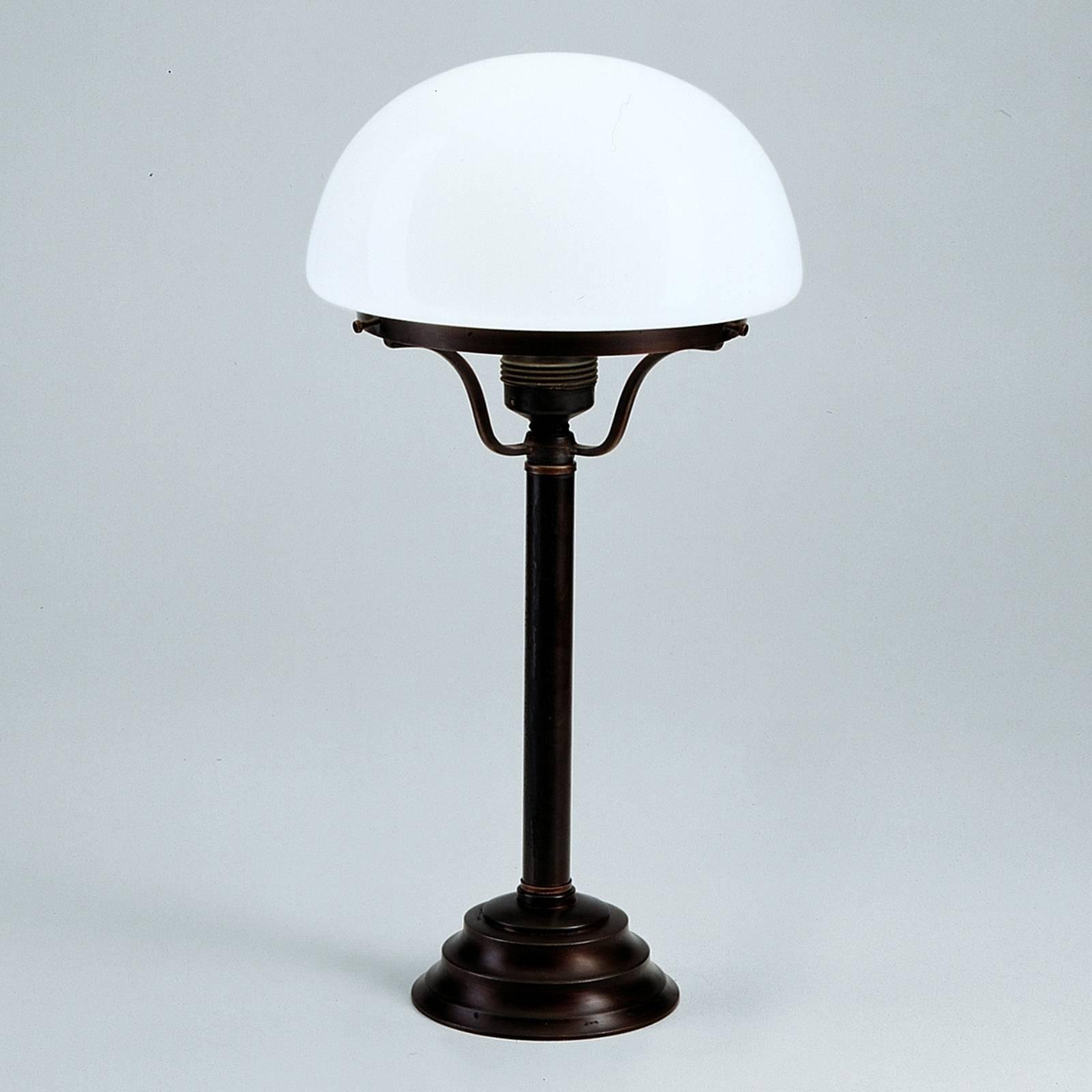 Tafellamp Frank met antiek-rustiek uiterlijk
