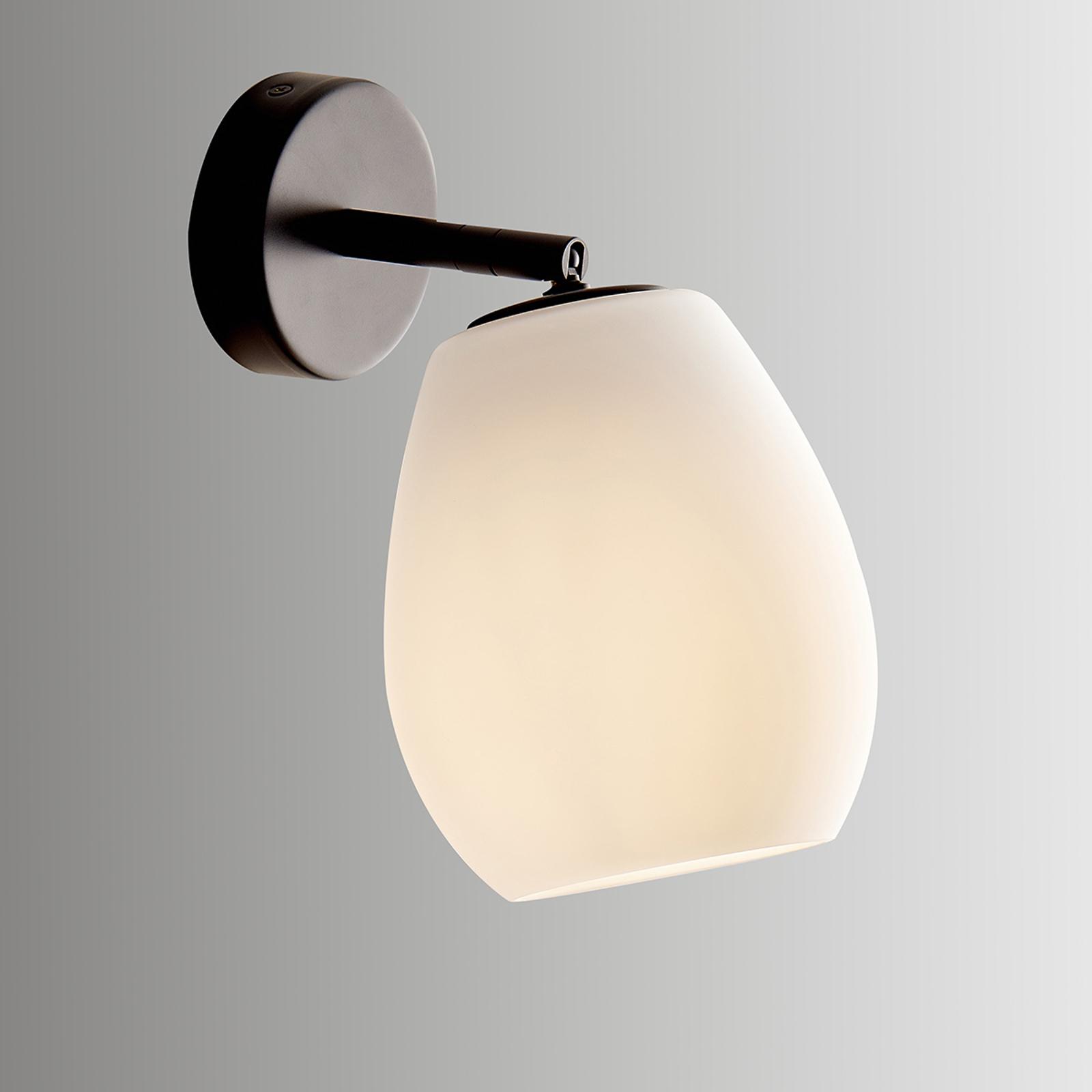 Casablanca Bagan - variabele wandlamp, opaal wit