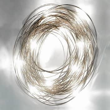 Ekstrawagancka lampa ścienna Confusione, 75 cm