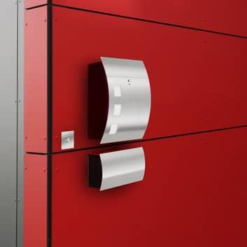 Luxueuse boîte aux lettres en inox Alani 1