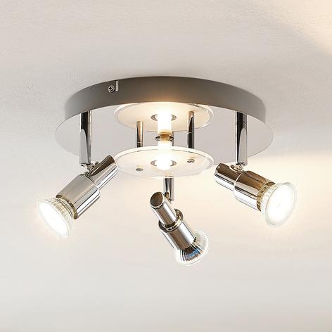 ELC Pelagia -LED-kattovalaisin, 4-lamppuinen