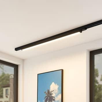 Arcchio Harlow LED-raillamp zwart 109 cm