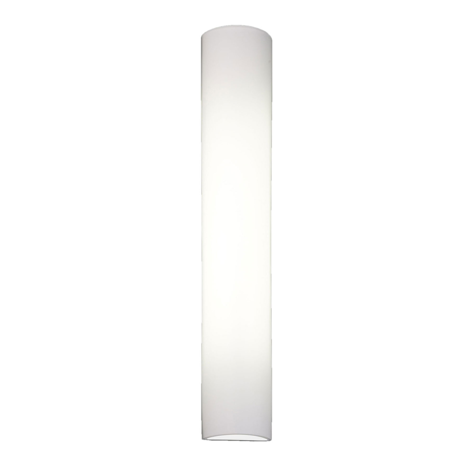 BANKAMP Cromo LED-Wandleuchte aus Glas, Höhe 40cm