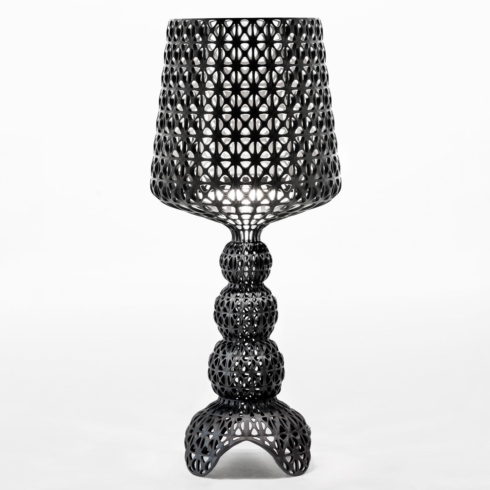 Kartell Mini Kabuki - LED-Tischlampe, schwarz