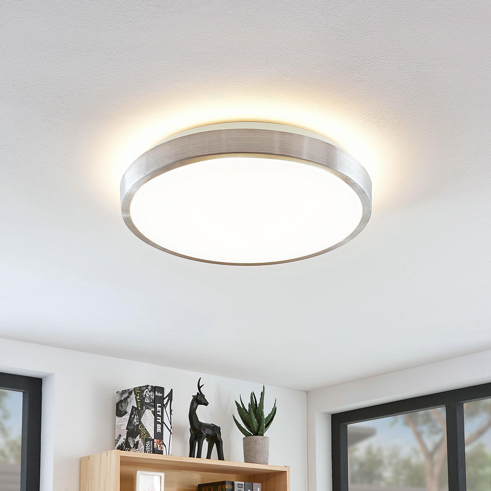 Lindby Emelie LED-Deckenlampe, rund, 42 cm