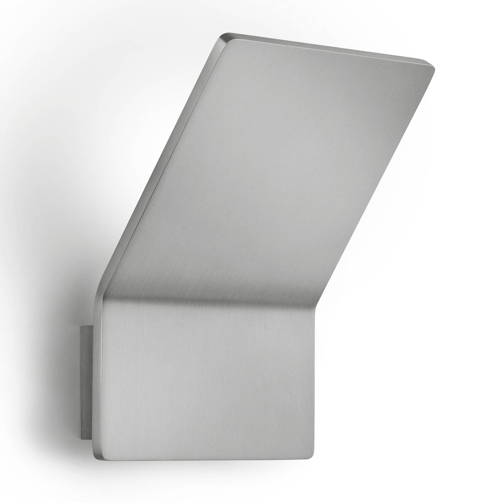 LED-Wandleuchte Ann-2, nickel, dimmbar