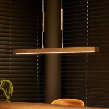 HerzBlut Leonora lámpara colgante LED, abeto, down