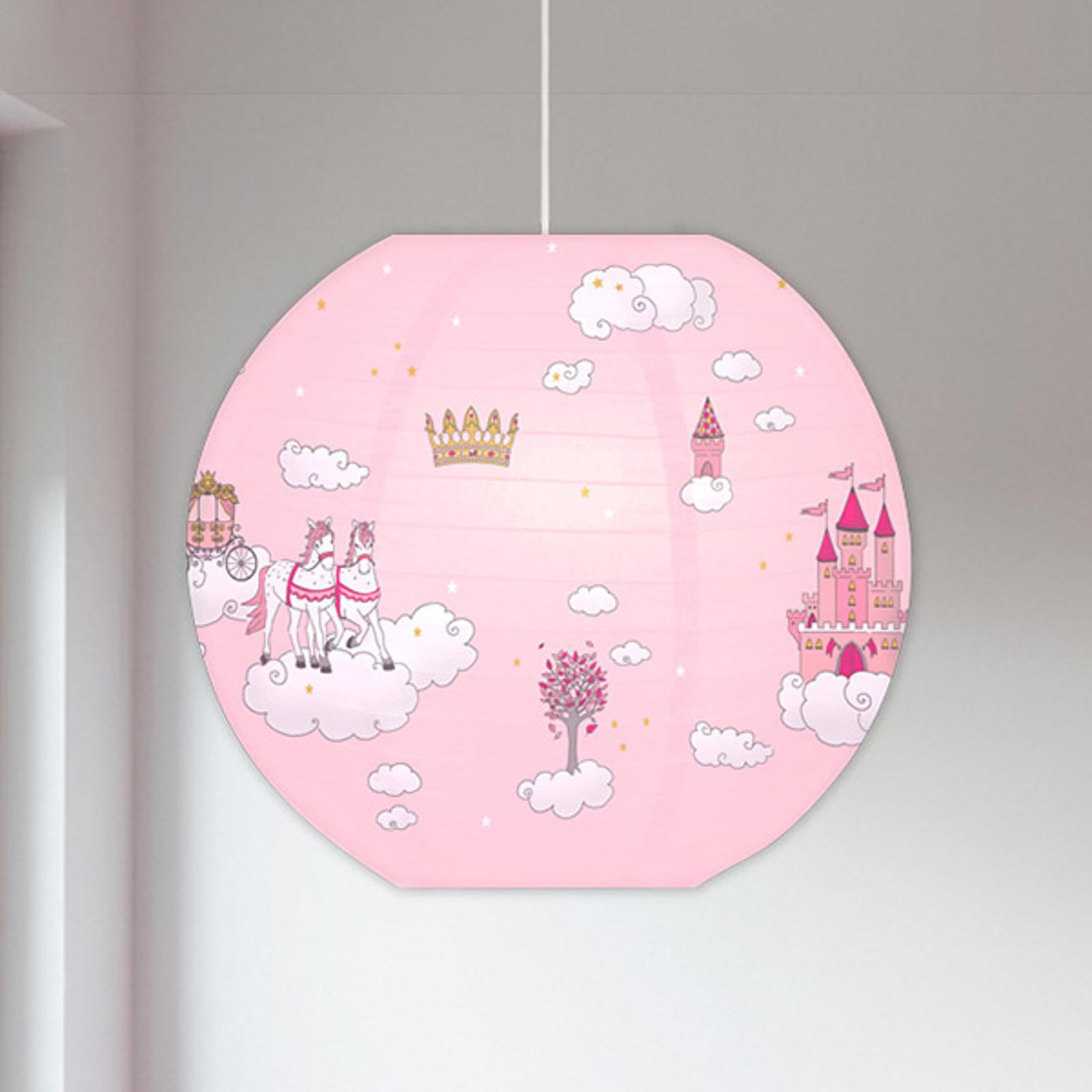 Hængelampe 4117004 med prinsessemotiver