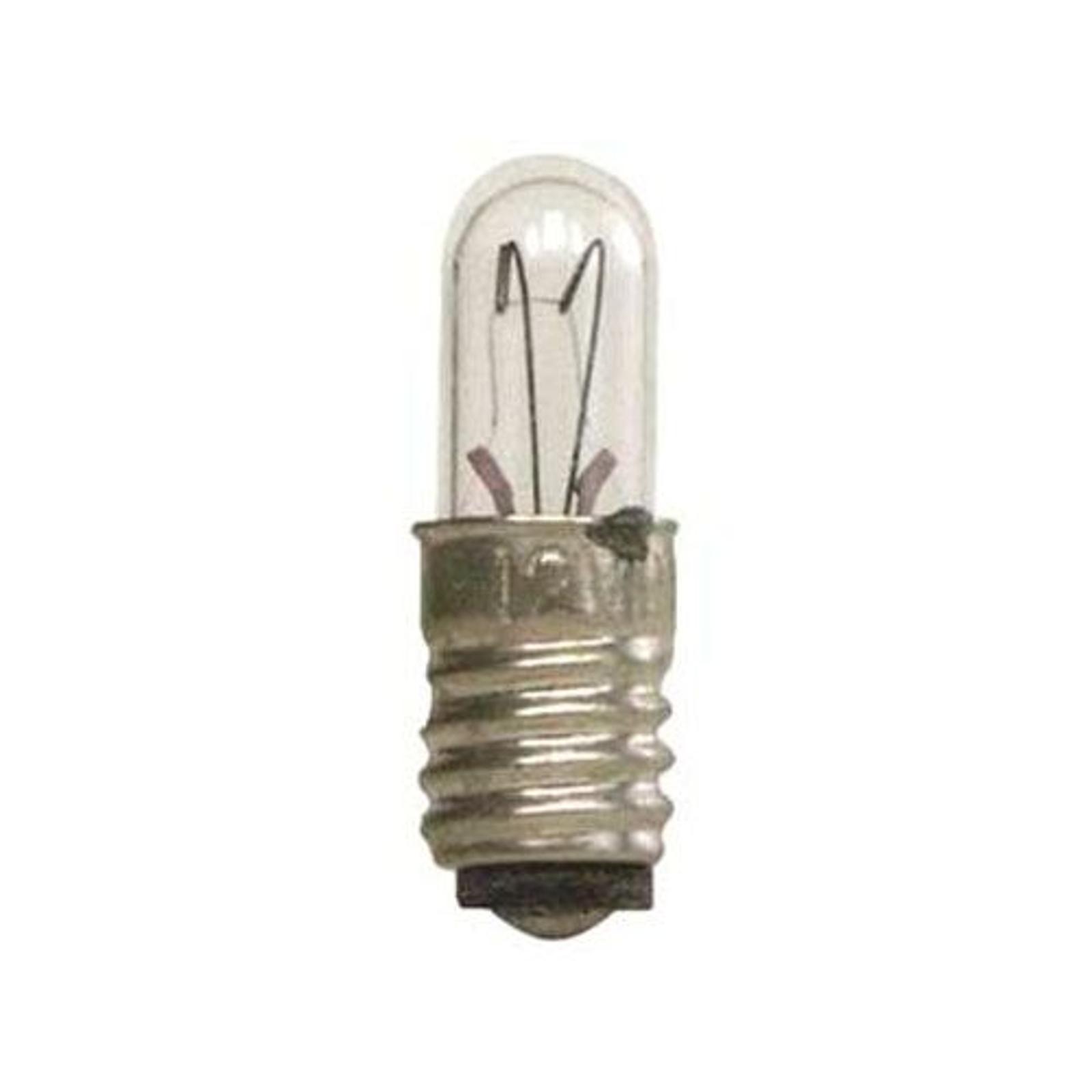 E5 0,8W 12V Reservlampor 5-pack, genomskinlig