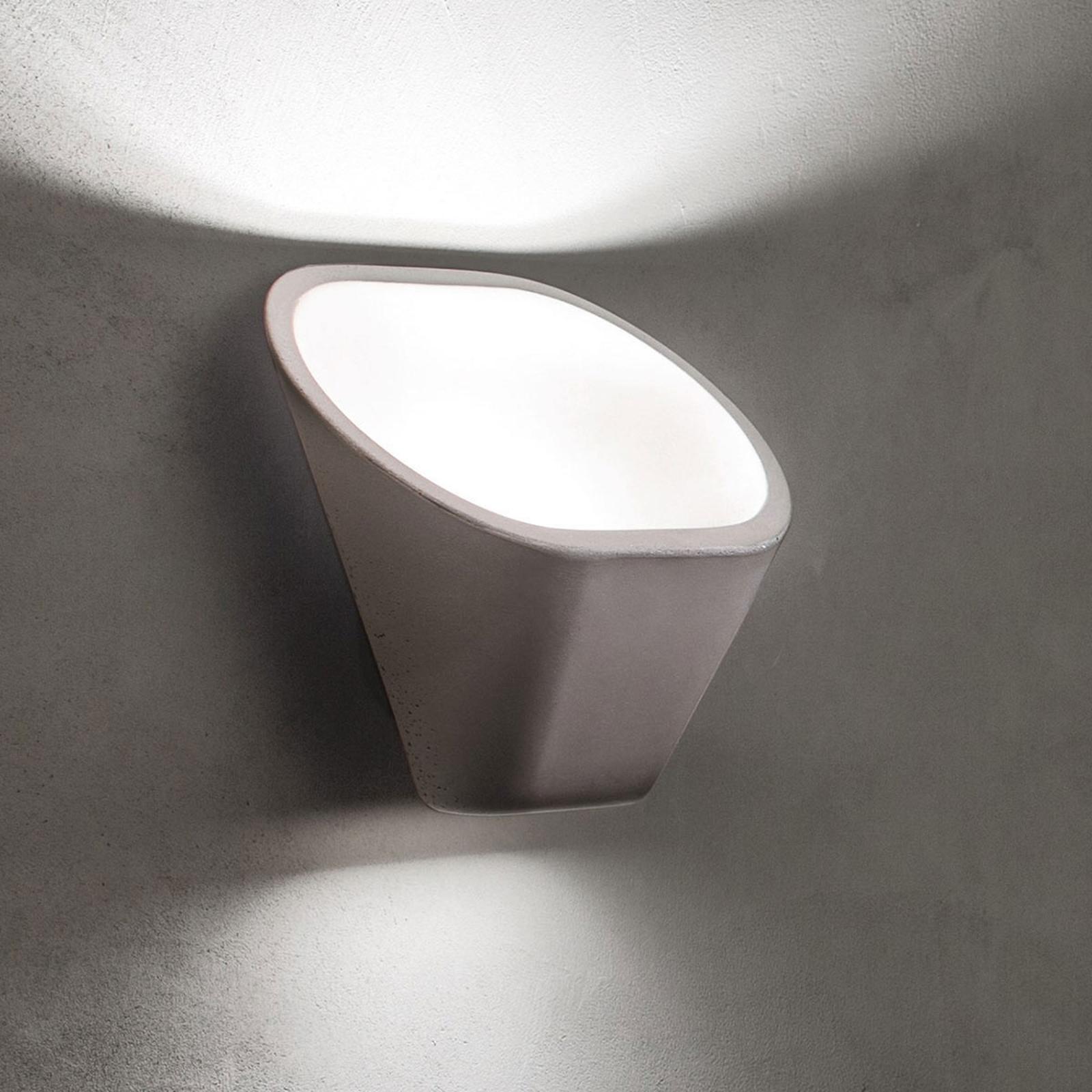 Foscarini Aplomb kinkiet LED, ściemniany, biały
