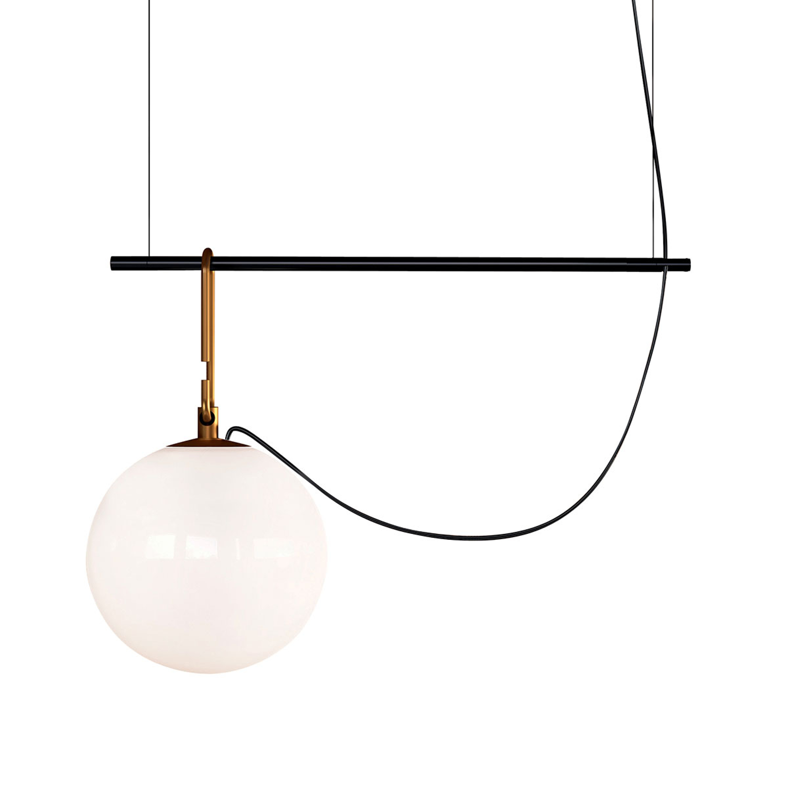 Artemide nh S1 22 suspension 55cm sphère Ø 22cm