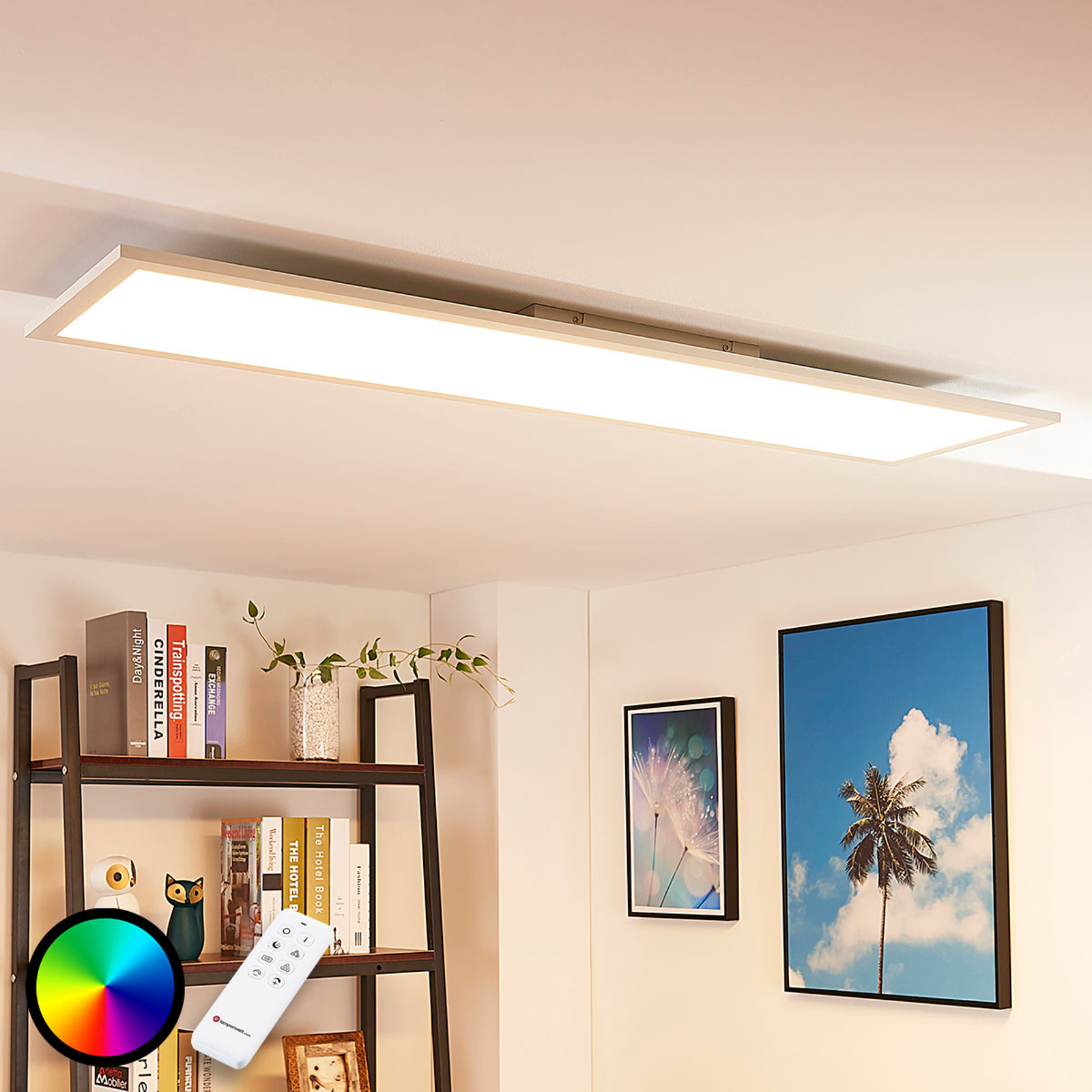 Arcchio Tinus LED-Panel, RGB, 119,5 cm x 29,5 cm
