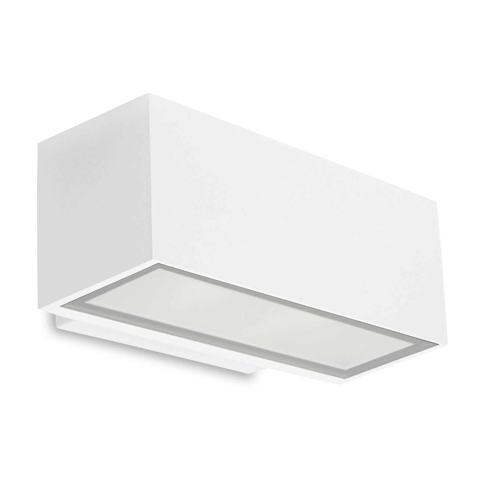 LEDS-C4 Afrodita udend. LED-væglampe up/down, hvid