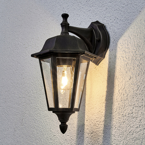 Lamina - outdoor wall light with a rust finish